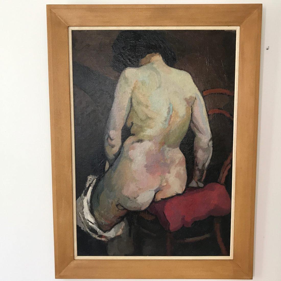 Henri van Straeten (1892-1944), olieverf op paneel