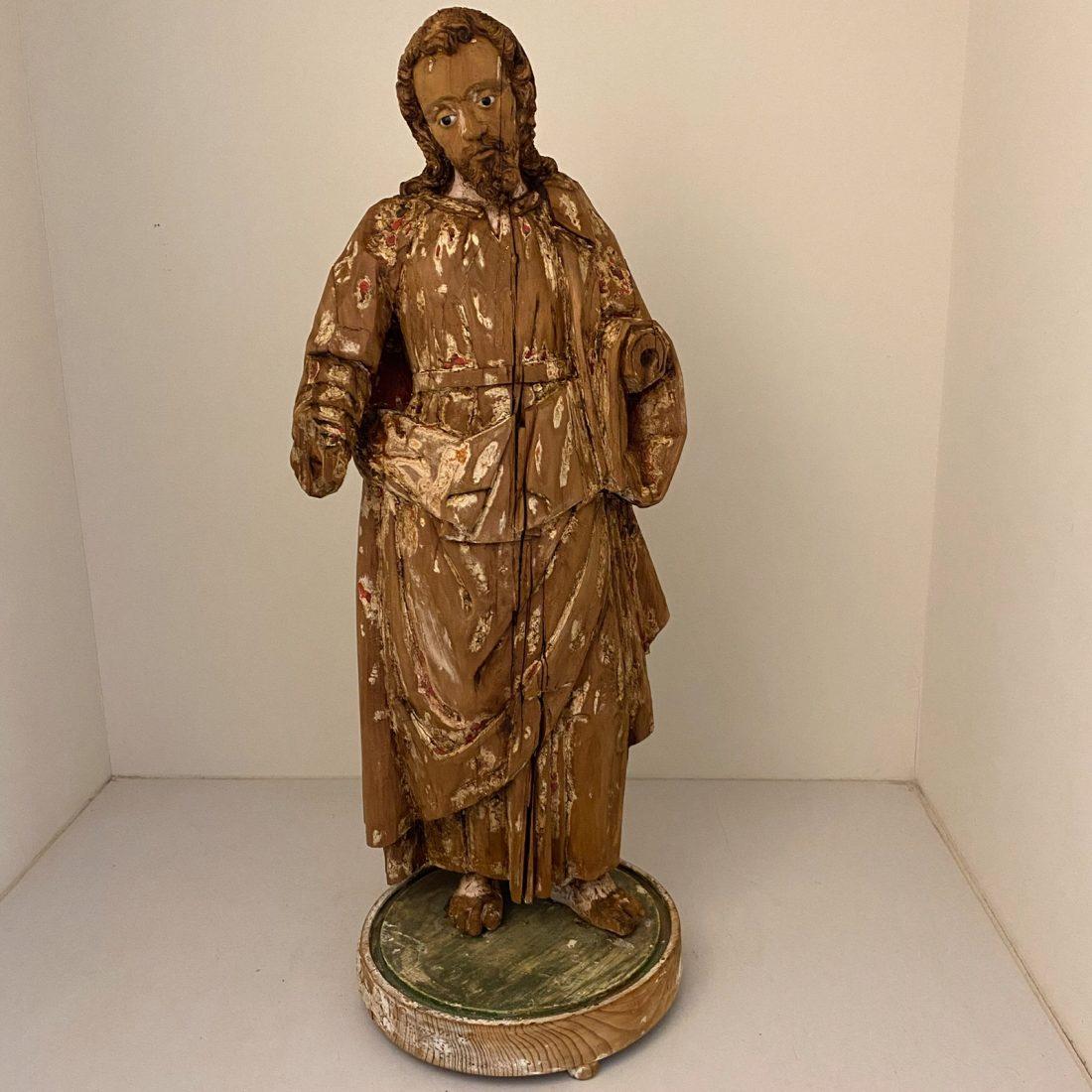 Lindehouten beeld van Jezus Christus, Italië, rond 1700