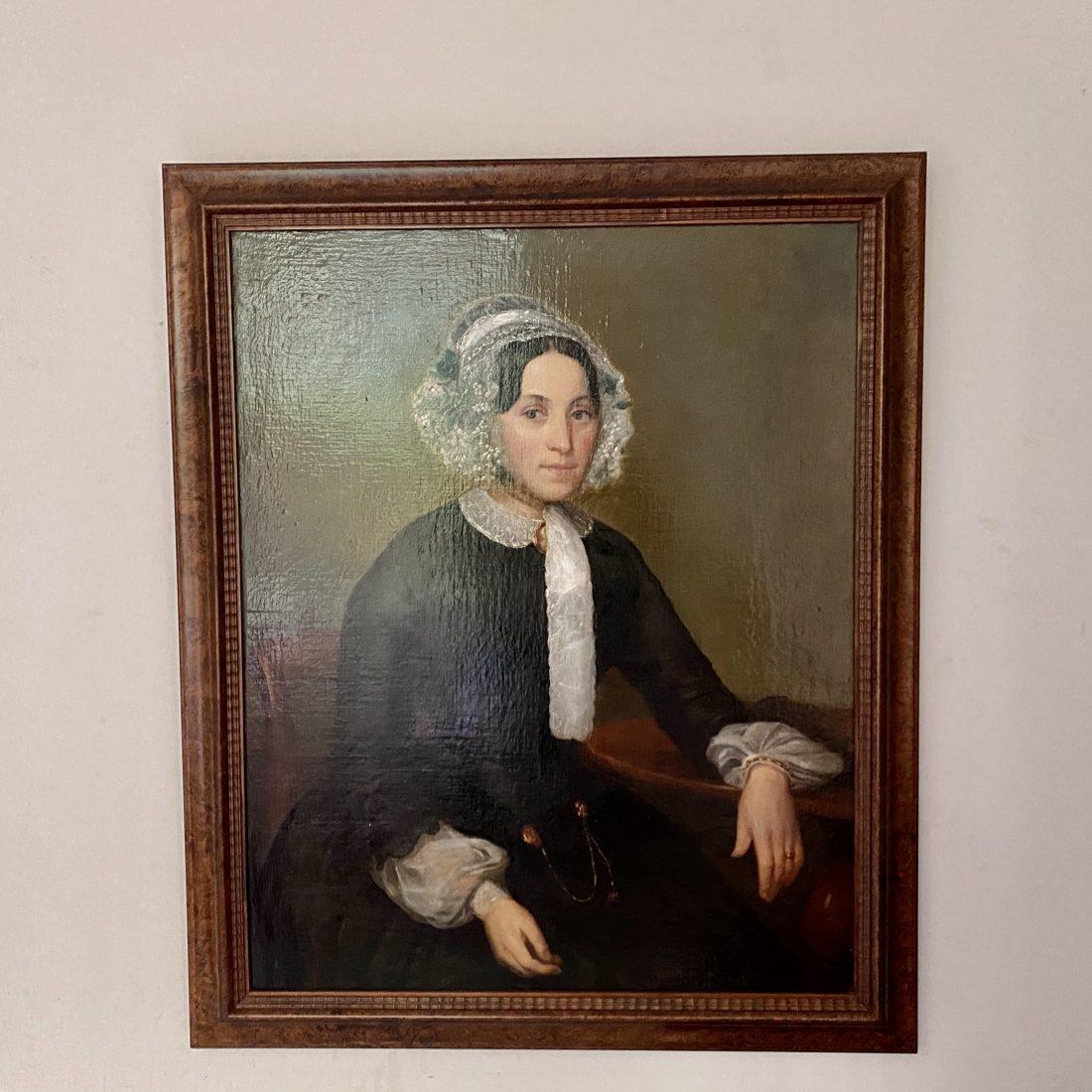 Dames portret, onbekend, 19e eeuw