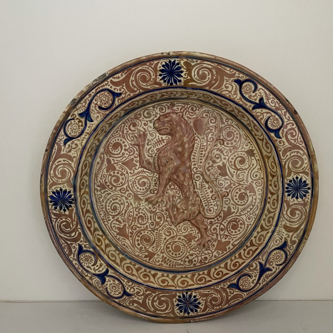 Hispano-Moresque schotel, Spanje, 17e eeuw