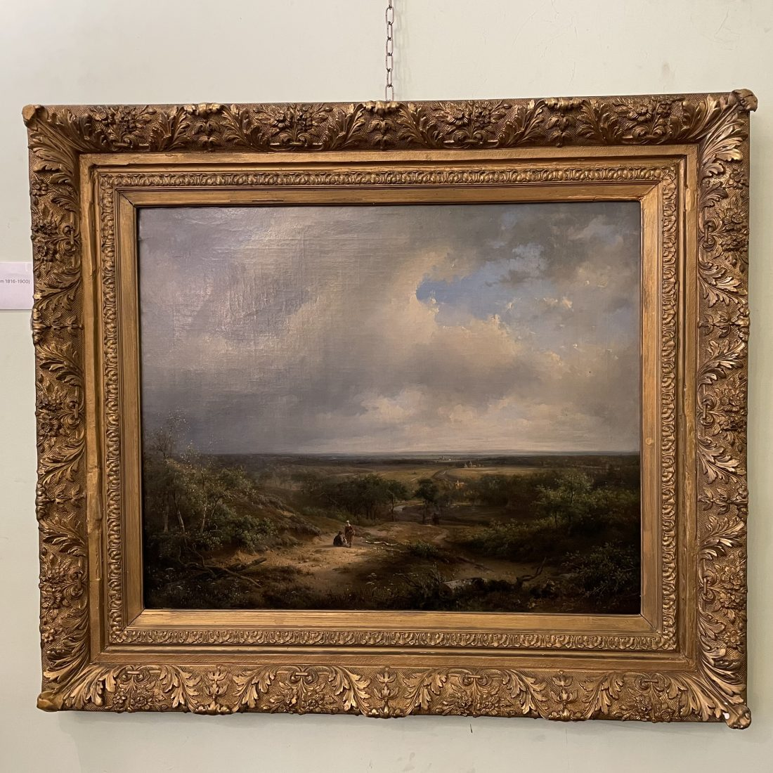 Bosrijke omgeving in de omstreken van Haarlem Pieter Lodewijk Francisco Kluyver  Amsterdam 1816-1900