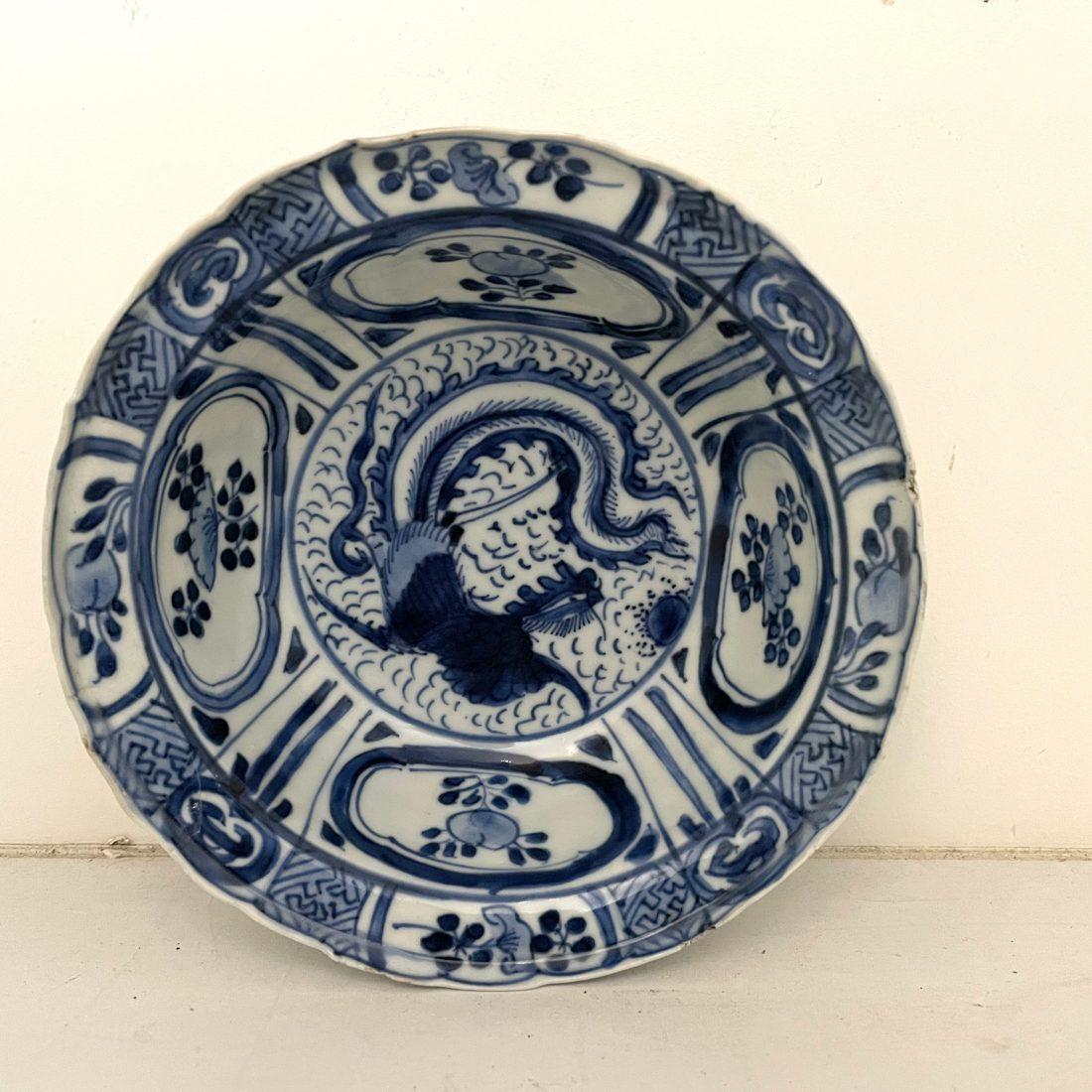 Wanli kommetje met een phoenix, China, 16e eeuw